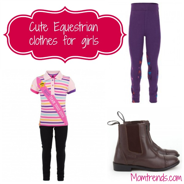cute equestrian clothes for girls