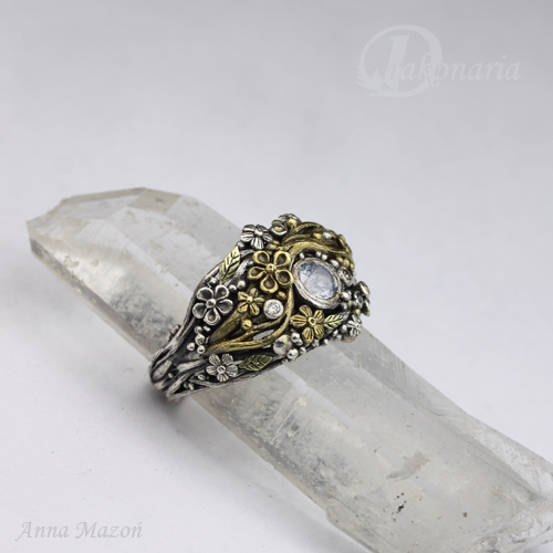 Mixed Metal Ring AM