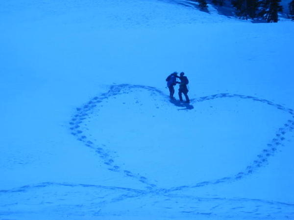 Snowshoe love