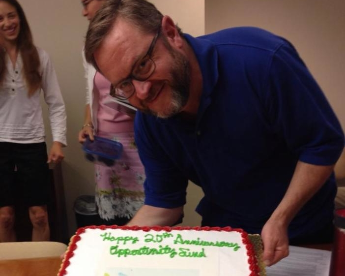 Eric celebrating 20 years of Opportunity