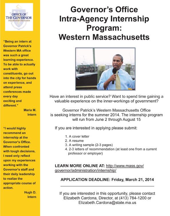 Governor's Office Internship Program