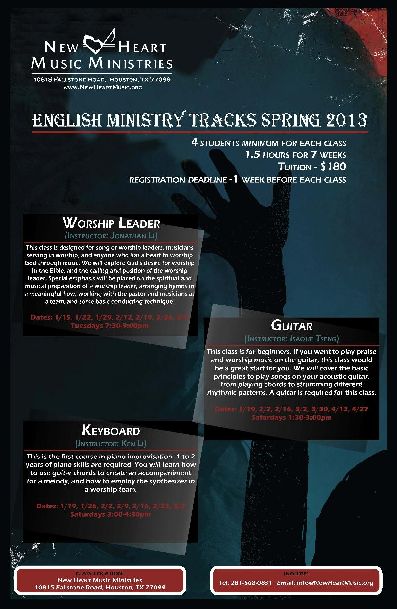 EnglishMinistryClasses2012