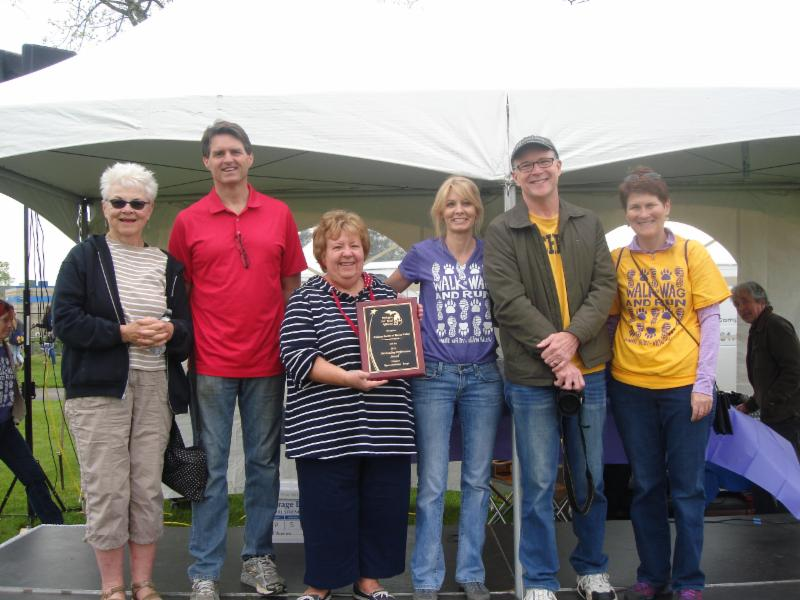 2014 Shelter Award HSHV Humane Society Huron Valley