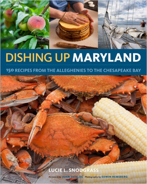 dishing up maryland cover