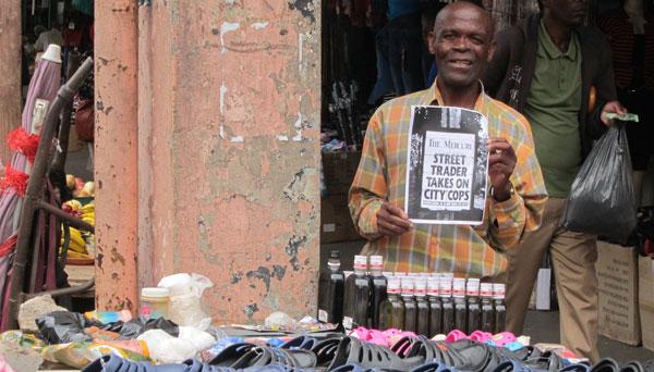 John, Street Vendor in Durban