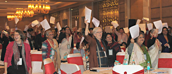 Celebration at Home-Based Workers Global Conference