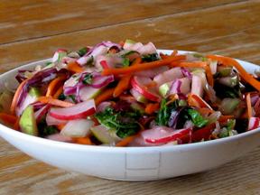 final pressed salad