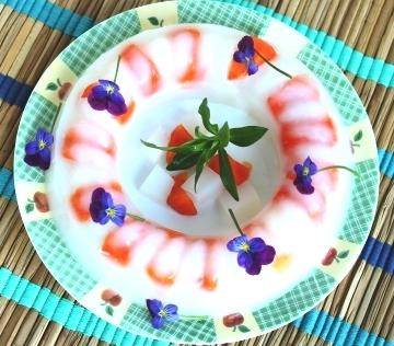 Agar persimmon