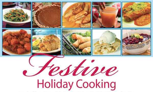 Festive Holiday Cooking Image