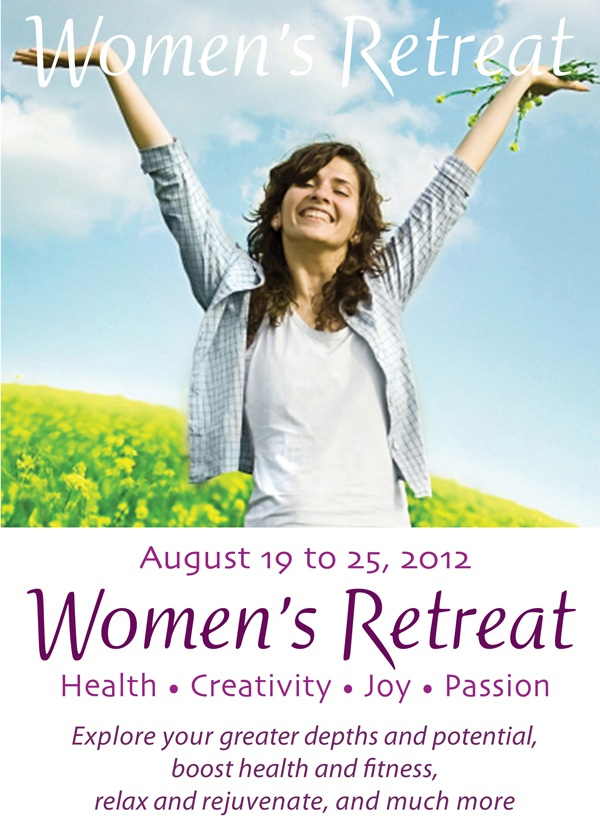 women's retreat Aug 2012