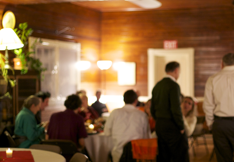 Dining at Kushi Institute on Thanksgiving