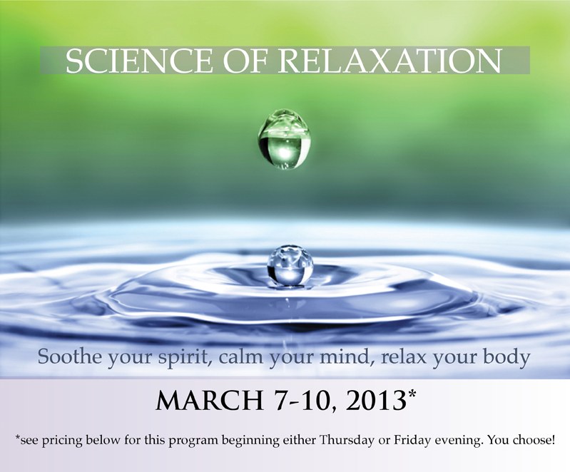 Science of Relaxation image 2013