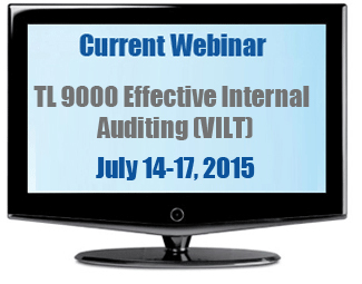 TL 9000 Effective Internal Audting