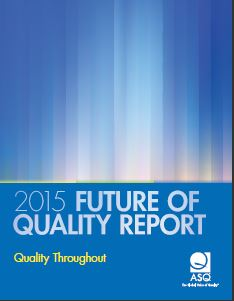 ASQ 2015 Quality Report