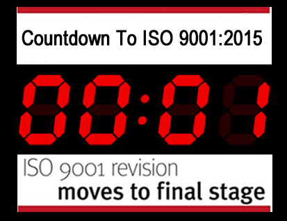 Countdown To ISO 9001:2015
