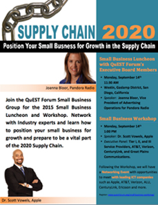 Supply Chain 2020 Workshop Flyer