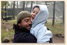 Father&SonHug