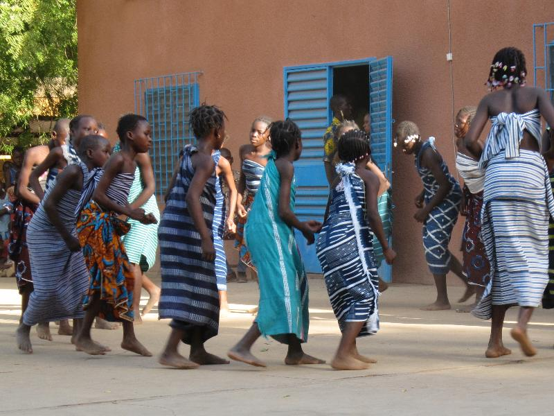 Burkina Children Dance