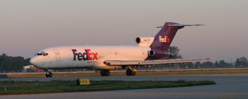 FedEx B727 Wide Photo