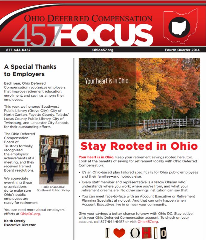 Fourth Quarter Focus Newsletter