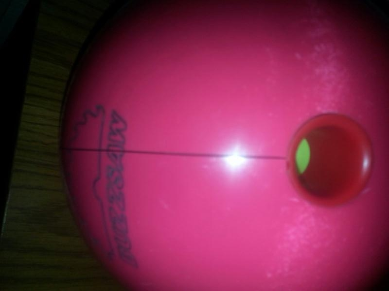 Cracked Bowling Ball