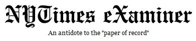 NYT eXaminer