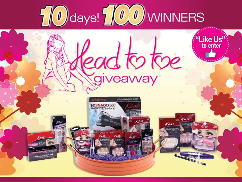 Head to Toe Giveaway