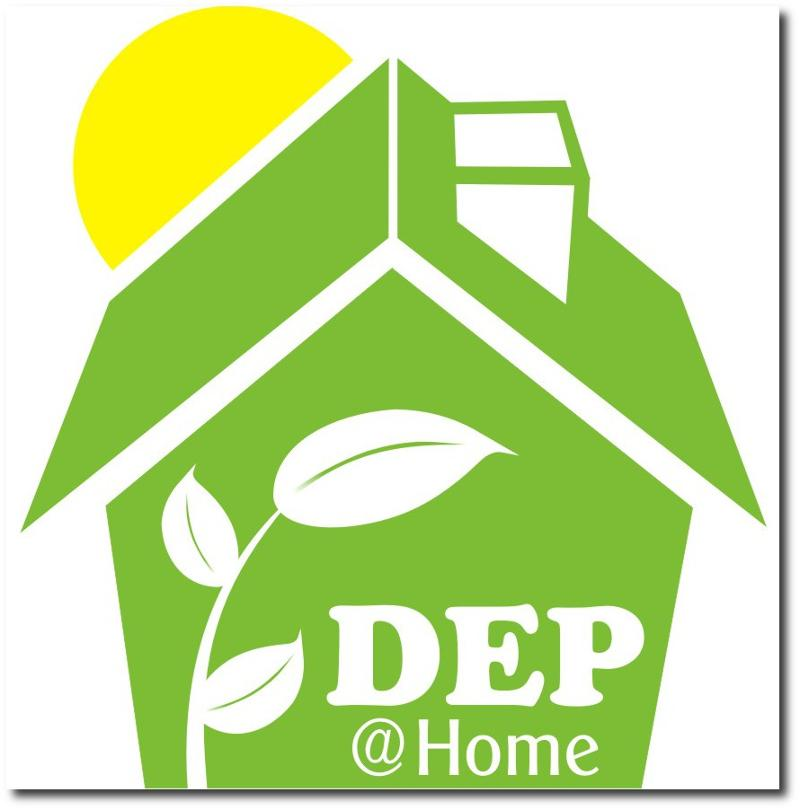 DEP at Home logo
