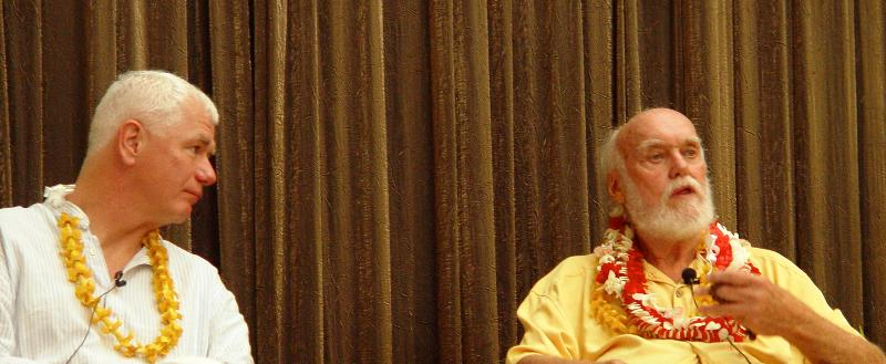Ram Dass & Frank Ostaseski Teaching