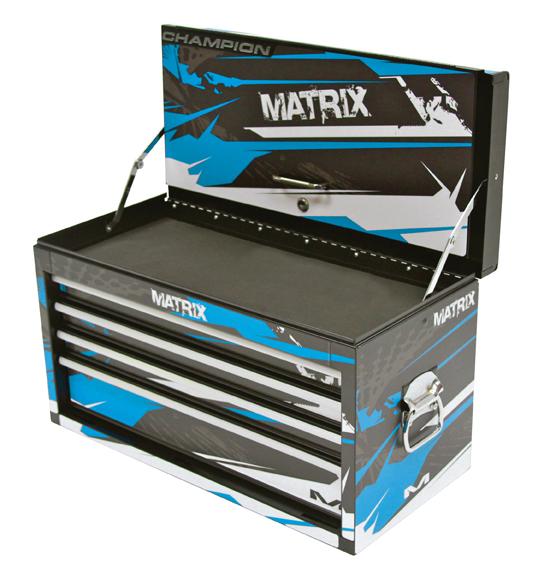 Matrix Concepts Adds M30 4 Drawer Mechanics Team Tool