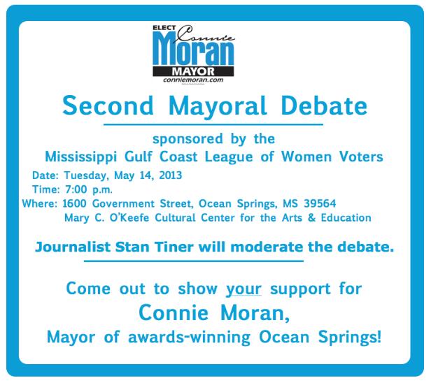 Second Mayoral Debate, May 14, 2013