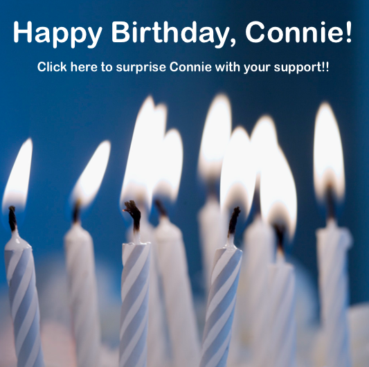 Happy Birthday, Connie! Click here.