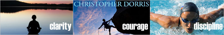 Christopher Dorris - Author, Speaker And Mental Toughness Trainer
