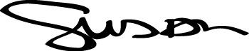 Susan Signature web