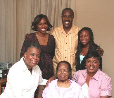 V Johnson Family