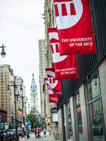 UArts banners/City Hall by Billy Bustamente