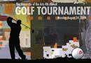 4th annual UArts Golf Tournament invite