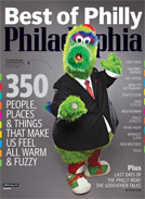 Philadelphia Magazine cover, August 2009 issue