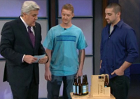 Matt Braun and Chris Mufalli perform on the Tonight Show with Jay Leno
