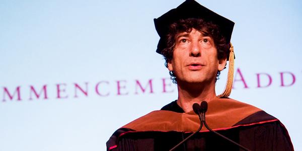 Neil Gaiman Commencement 2012