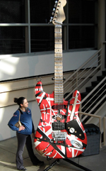 Duct tape guitar