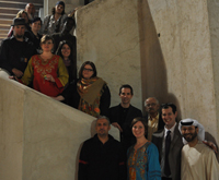 MFA students at Sharja Art Museum