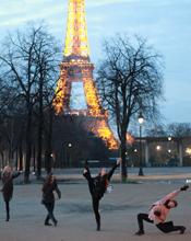 Dancers in Paris 2013