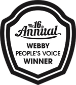 Webby People's Voice Award winner logo