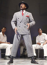 "Forest McClendon stars in ""The Scottsboro Boys"""