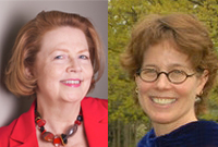 Deans Kay F. Williams and Catherine Gunther Kodat