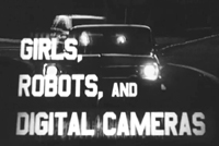 Still from Girls, Robots and Digital Cameras by Richard Law