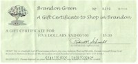 Brandon Green Certificate
