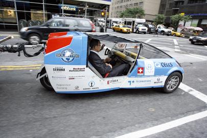 Solar-Powered Taxi