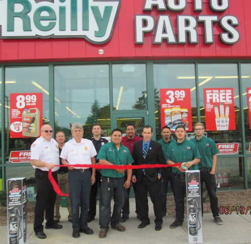 O'Reilly Auto Parts Ribbon cutting